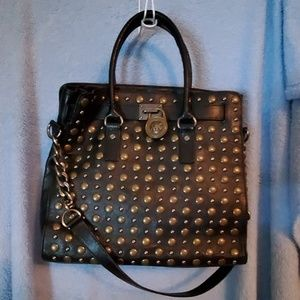 MK Studded Leather bag
